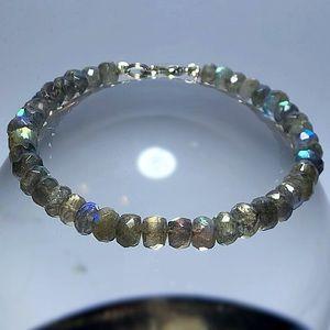 Genuine High Quality Labradorite Bracelet!